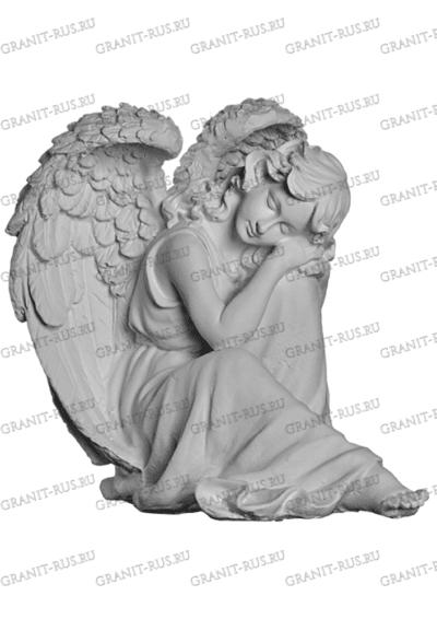 Скульптура скорбящая с крыльями СК-л 022