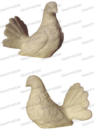 Голубь и голубка СК 021 «итальянский мрамор»