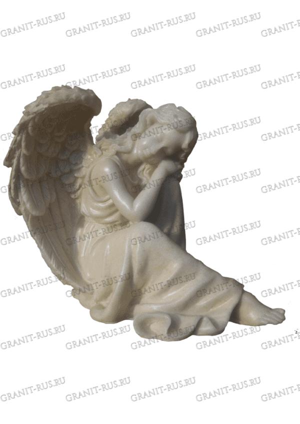 ангел на могилу, скорбящая на кладбище