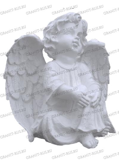 Ангел сидящий с крыльями СК 051