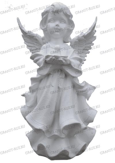 Скульптура «девочка со свечой» СК 052