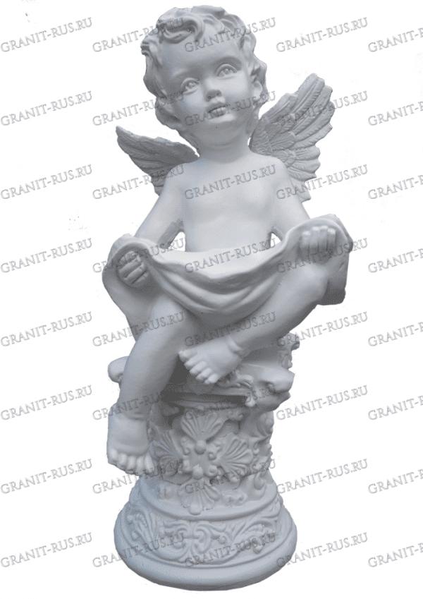ангел на памятник Скульптура из литьевого мрамора на могилу