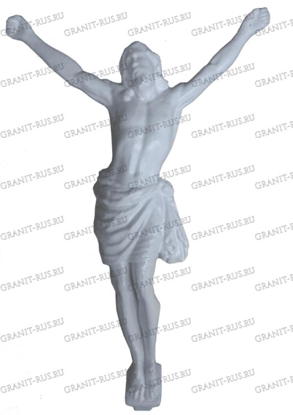 декор для памятника, распятие из акрила Скульптура из литьевого мрамора на могилу
