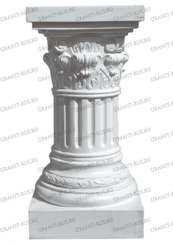 колонна на улицу, колонна под скульптуру, колонна на кладбище, колонна на могилу