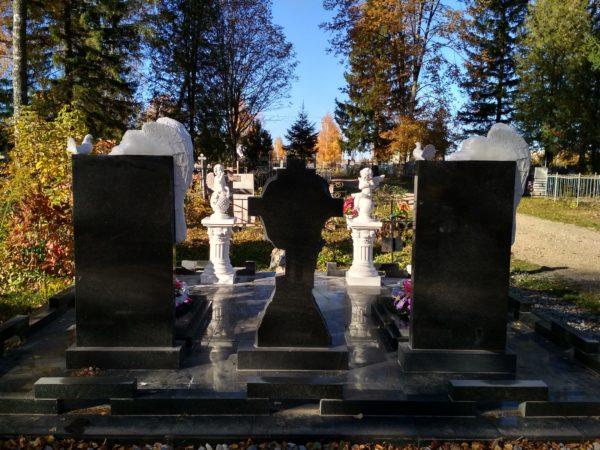 литьевой мрамор на кладбище