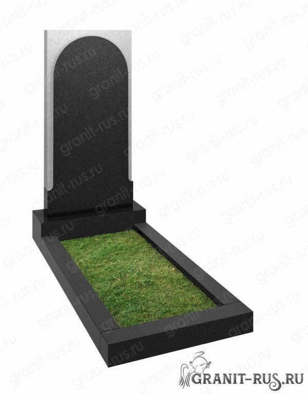 Заказать и купить гранитный памятник на кладбище в Заокском